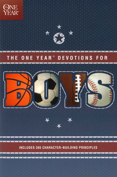 One Year Devotions for Boys -1
