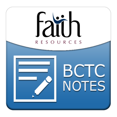 Goal and Qualifications of Biblical Counseling Student Outline PDF