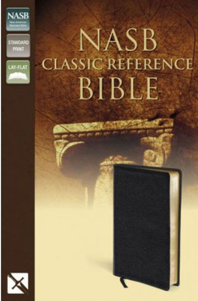 NASB Classic Reference Bible - Black Bonded Leather