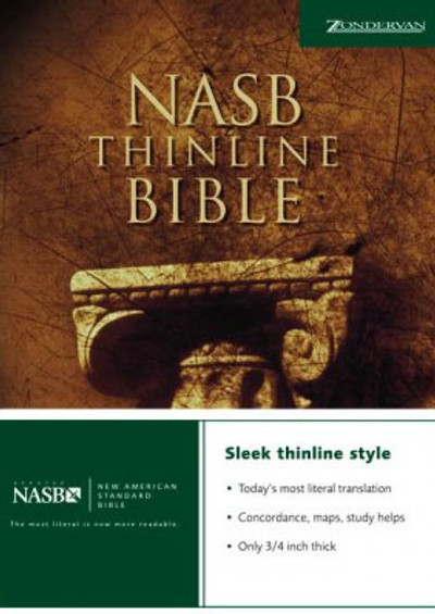 NASB Thin Bible - Paperback