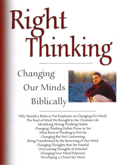 Right Thinking Booklet - Downloadable PDF