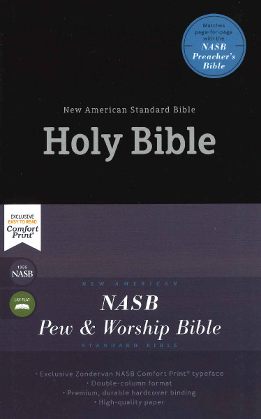 NASB Pew and Worship Bible