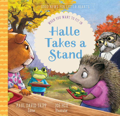 Halle Takes a Stand