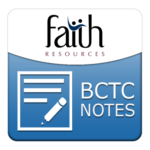 Track 5 Digital Notebook - Biblical Counseling Training Conference