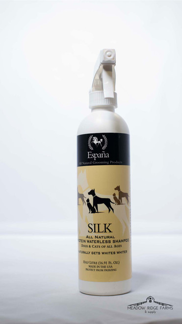 SILK All Natural Protein Waterless Shampoo (Pets)