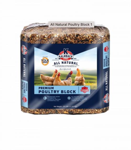 All Natural Premium Poultry Block