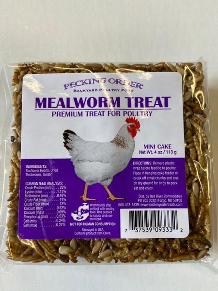 Mealworm Cake