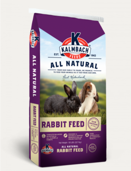 All Natural Rabbit Feed