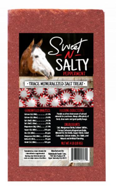 Sweet N Salty Peppermint Block