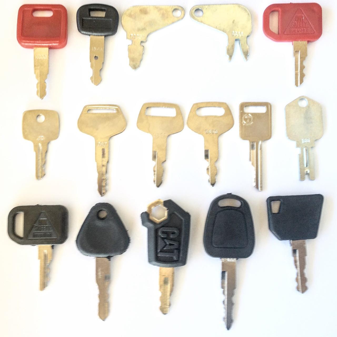 Construction Ignition Key Set