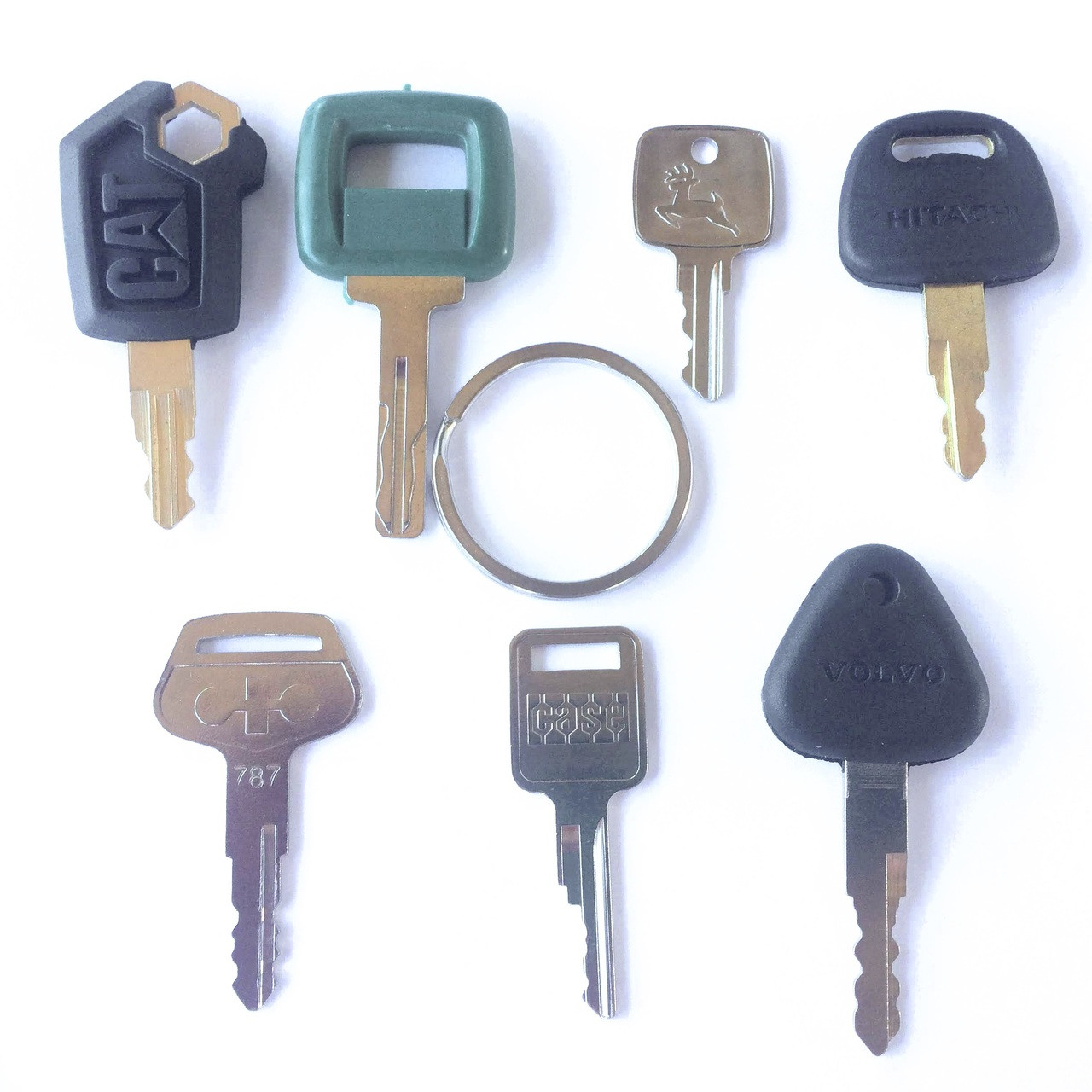 8 PC Equipment key set