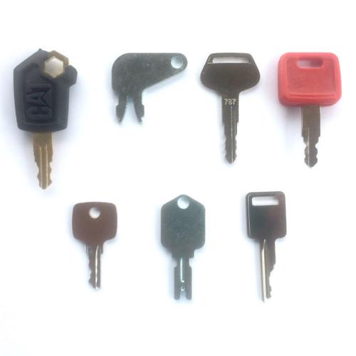Equipment keys set