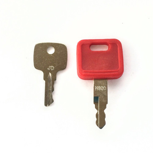 2 John Deere Heavy Equipment Keys