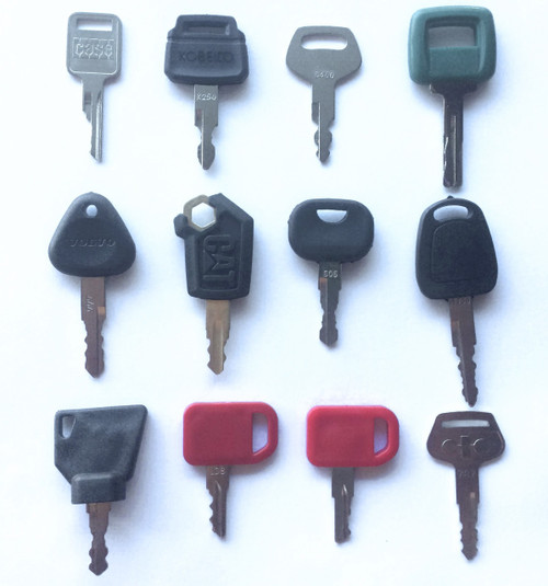 12 pc. equipment key set