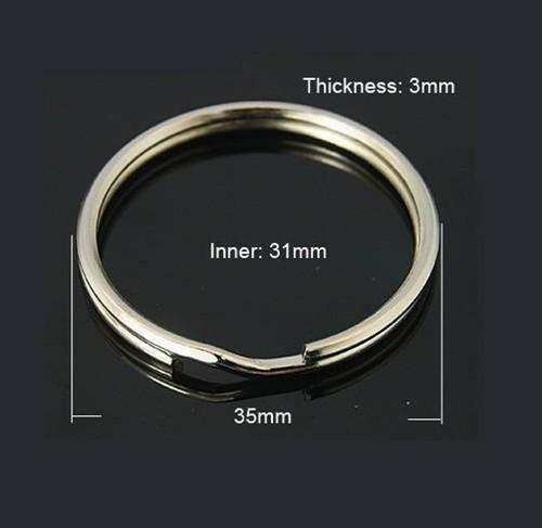 35MM Split Key Ring