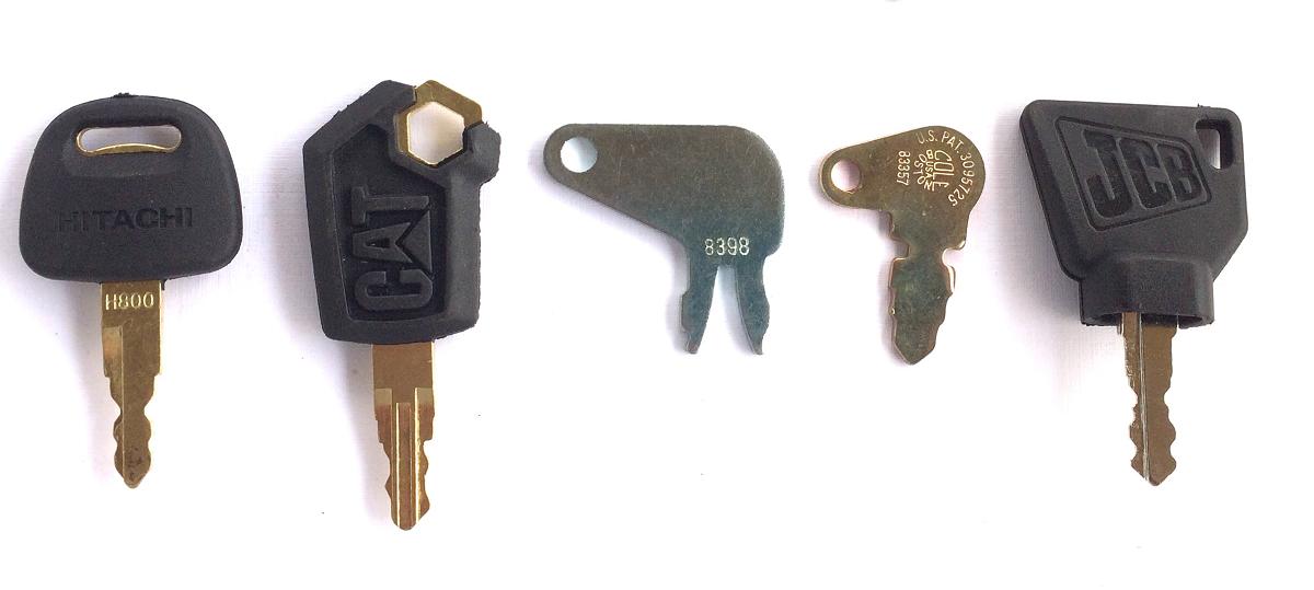 OEM Equipment Keys