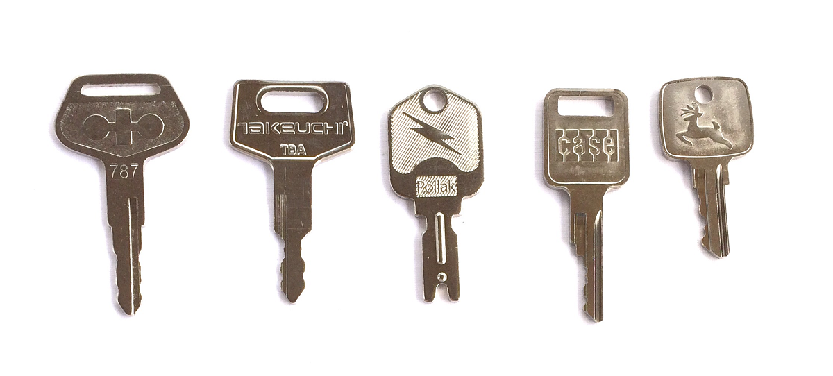Heavy Equipment Keys