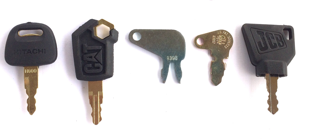 OEM Equipment Keys