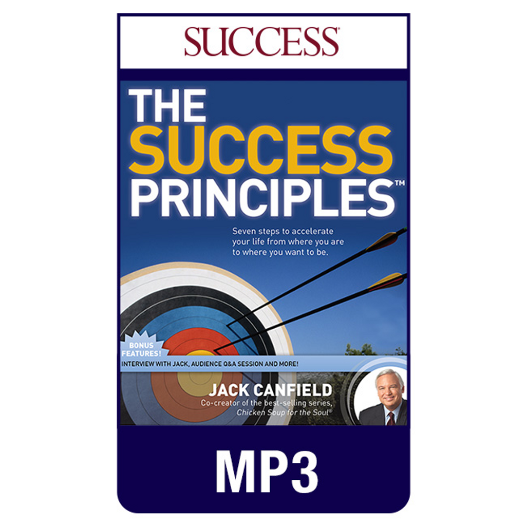 The Success Principles MP3 Audio Program by Jack Canfield