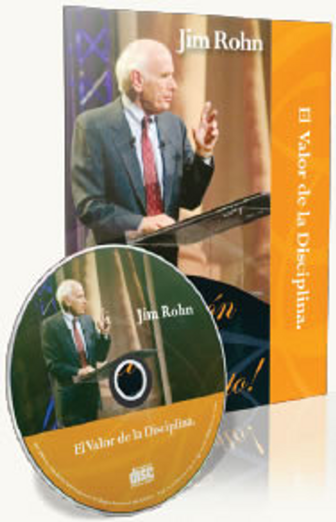 El Valor de la Disciplina -The Value of Discipline Spanish CD by Jim Rohn