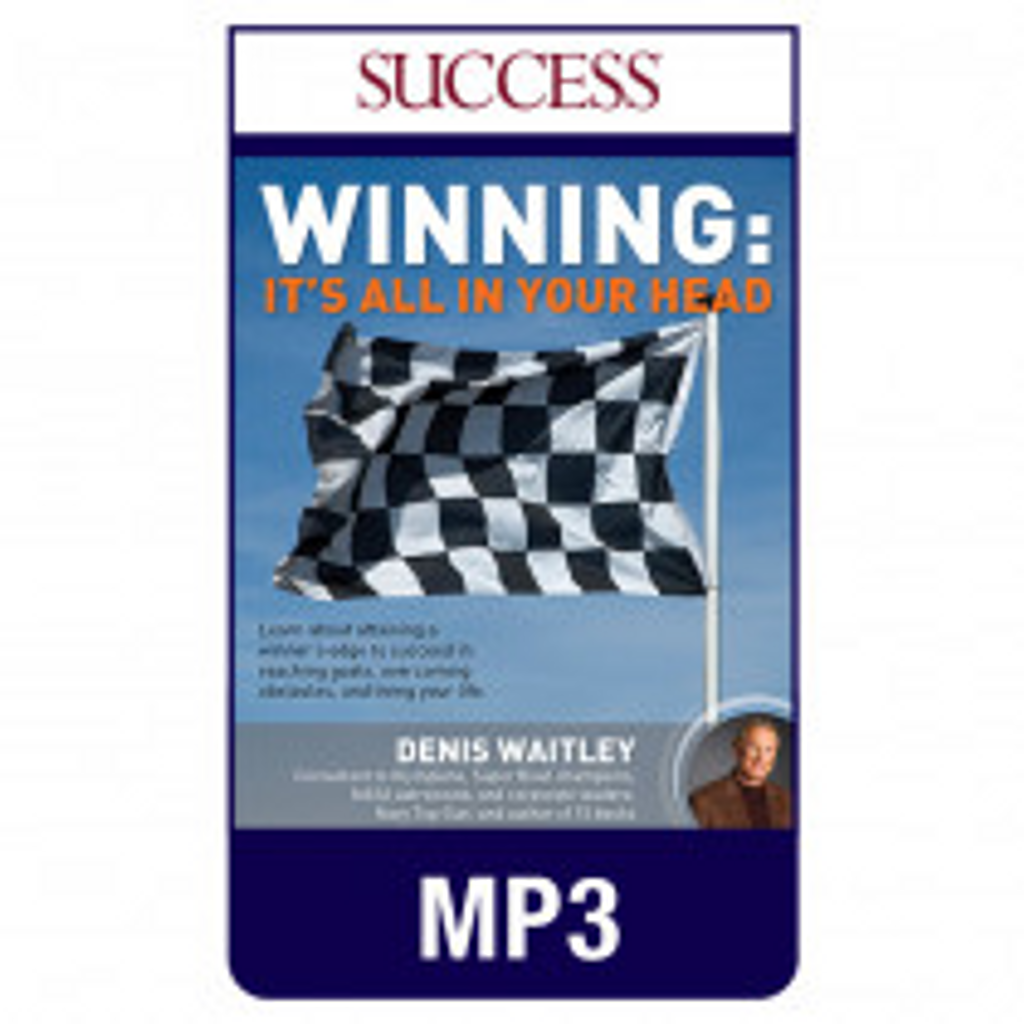 Winning: It's All in Your Head MP3 audio edition by Denis Waitley