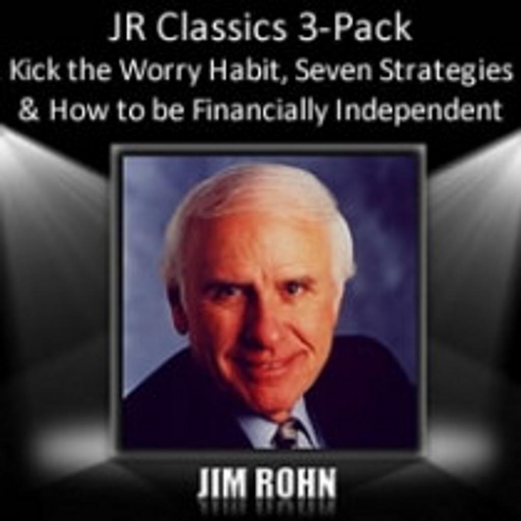 Jim Rohn Classics MP3 Audio 3-Pack