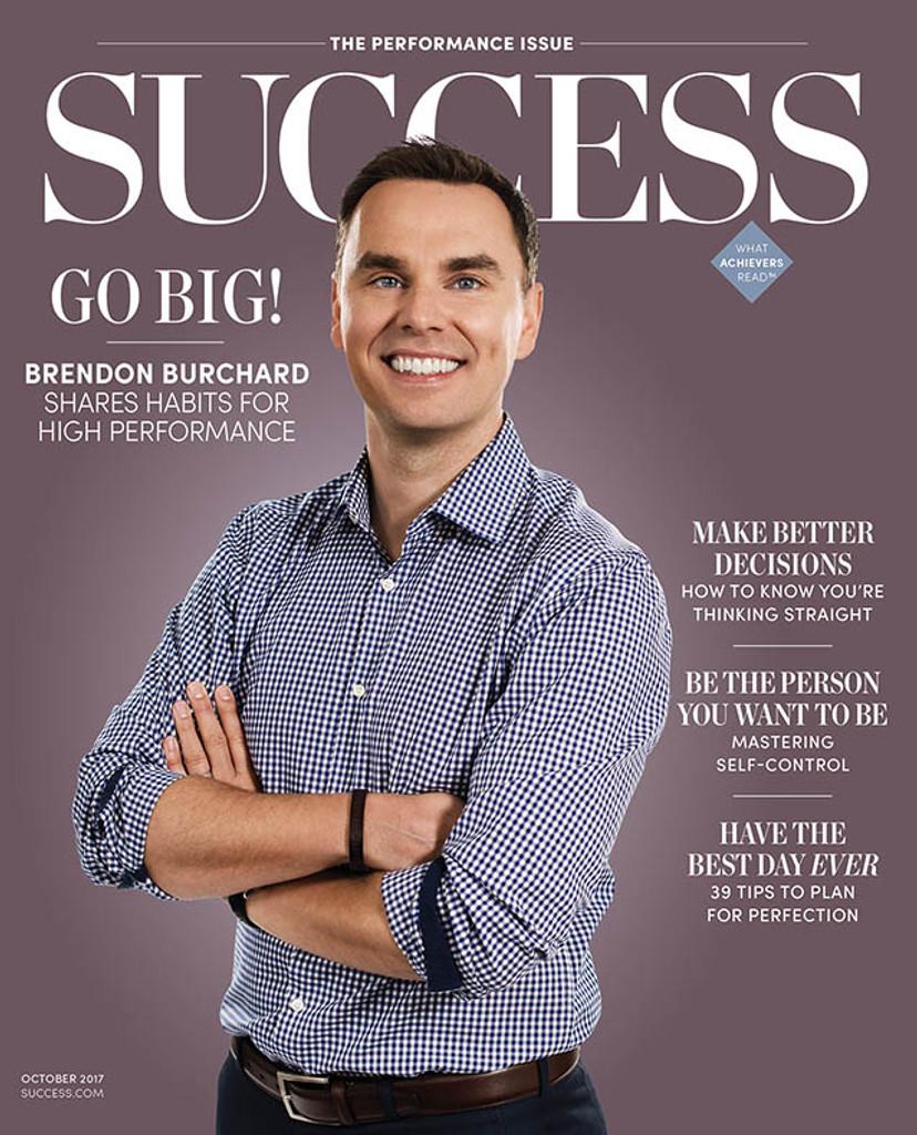 Success Magazine October 2017 - Brendon Burchard