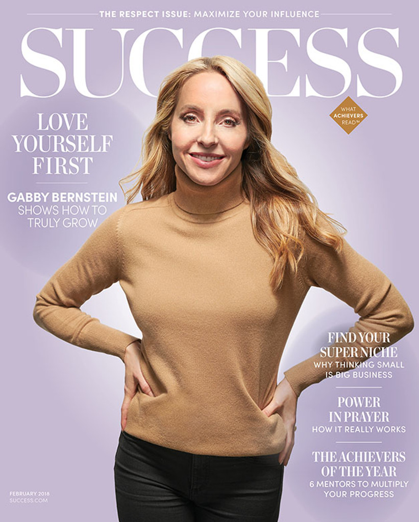Success Magazine February 2018 - Gabby Bernstein