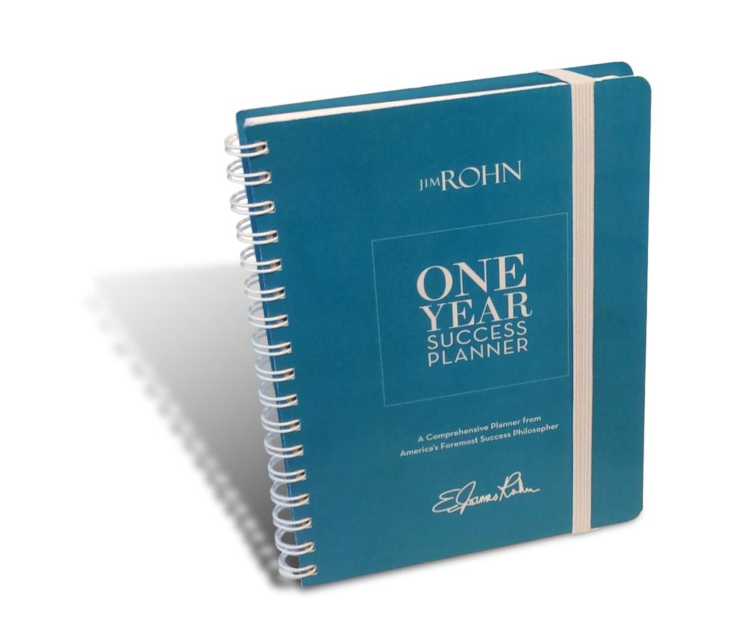Jim Rohn One-Year Success Planner