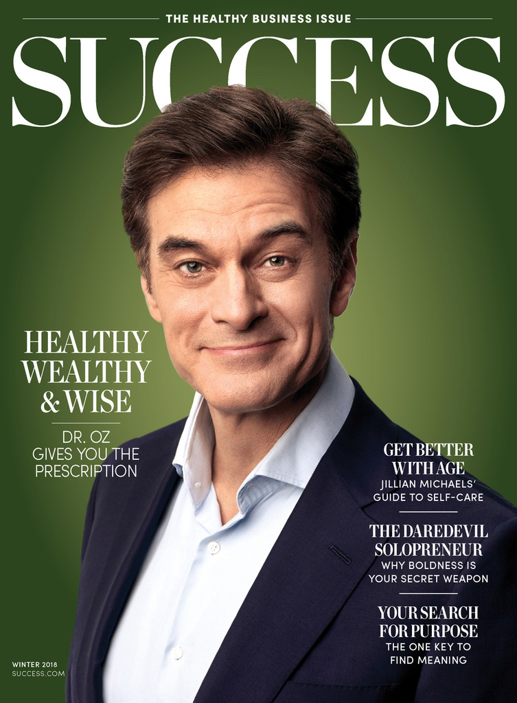 Success Magazine Winter 2018 - Dr. Mehmet Oz