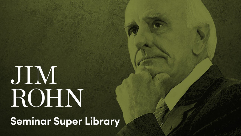 Jim Rohn Seminar Super Library