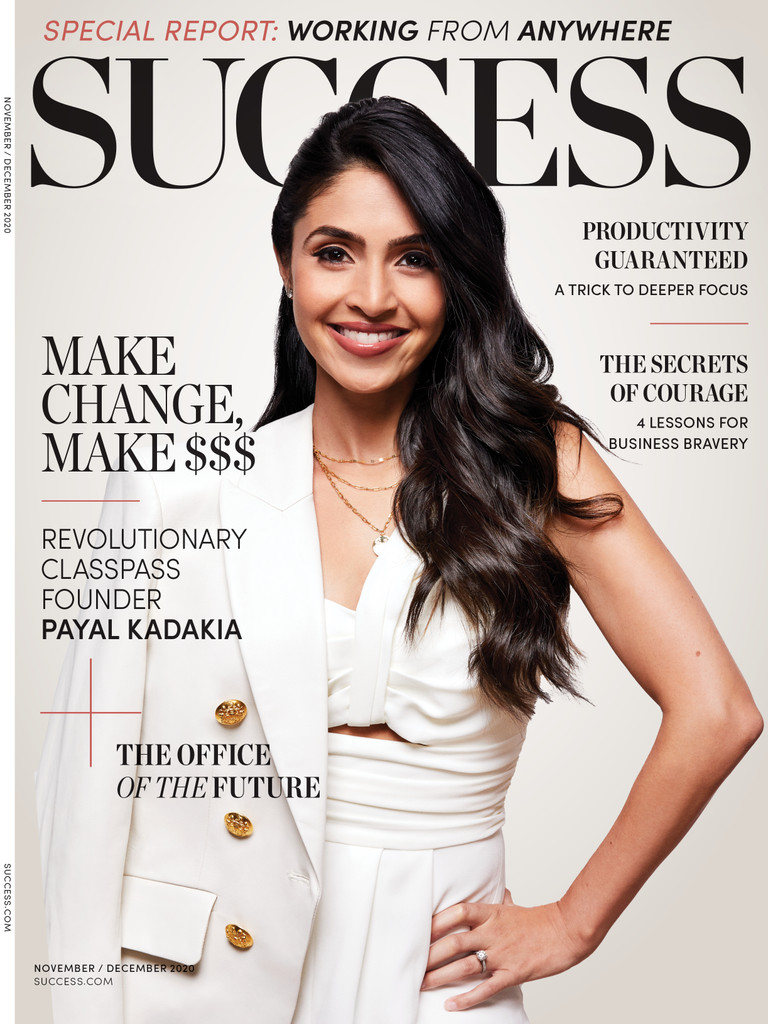 Success Magazine Nov/Dec 2020 - Payal Kadakia