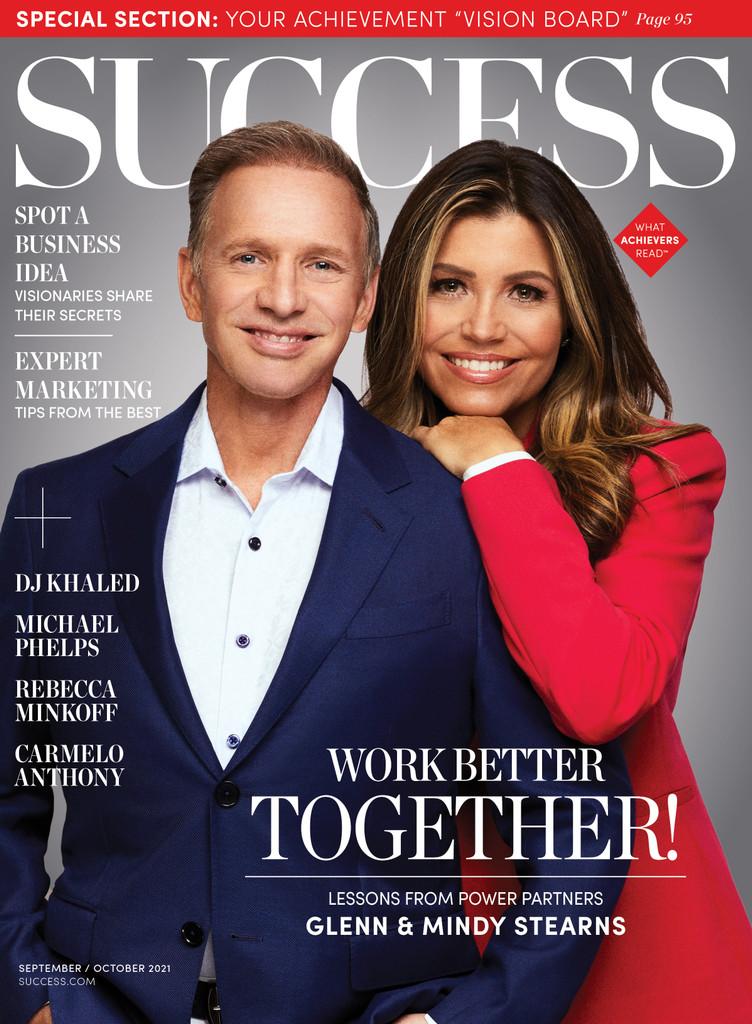 Success Magazine Sep/Oct 2021 - Glenn and Mindy Stearns