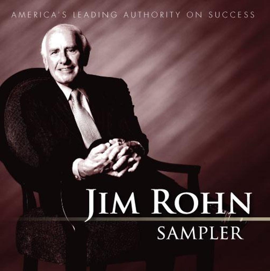 Jim Rohn Sampler Audio CD