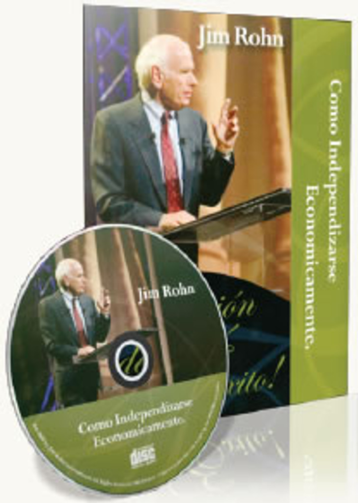 Como Independizarse Economicamente Spanish CD by Jim Rohn