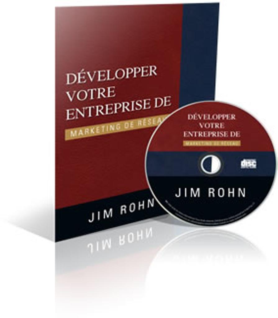 Developper Votre Entreprise de Marketing de Reseau  Audio CD by Jim Rohn (French)