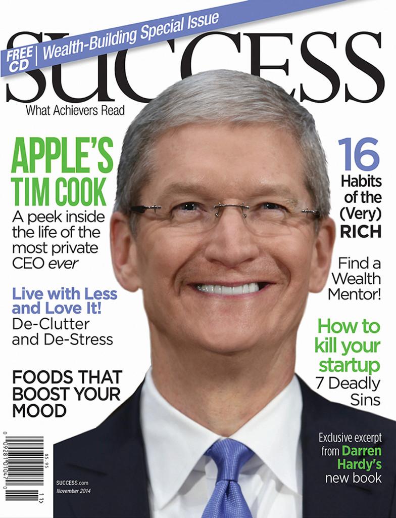 SUCCESS Magazine November 2014 - Tim Cook