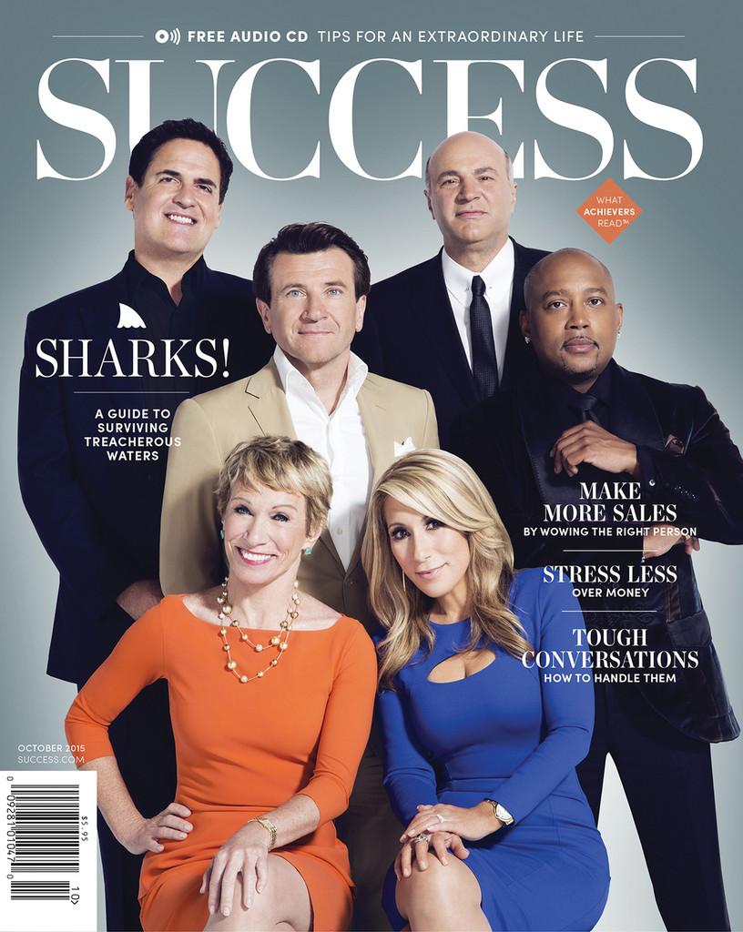 SUCCESS Magazine October 2015 - The Sharks