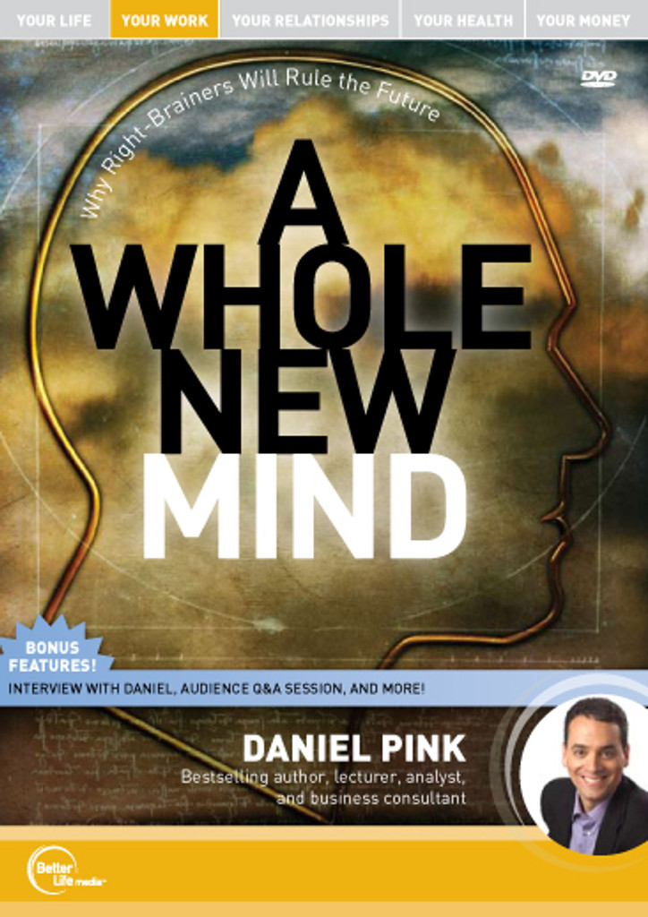 A Whole New Mind: Why Right-Brainers Will Rule the Future MP3 audio Edition by Daniel Pink