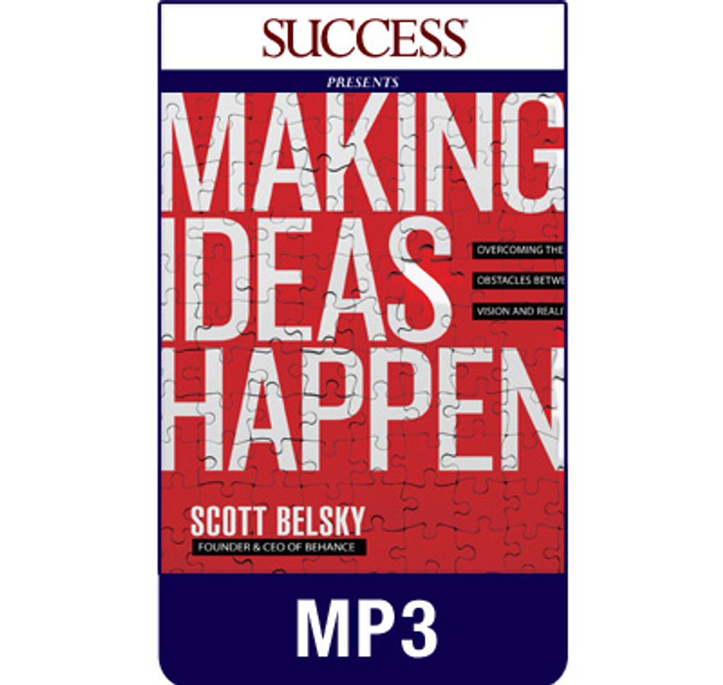 Making Ideas Happen MP3 audiobook by Scott Belsky