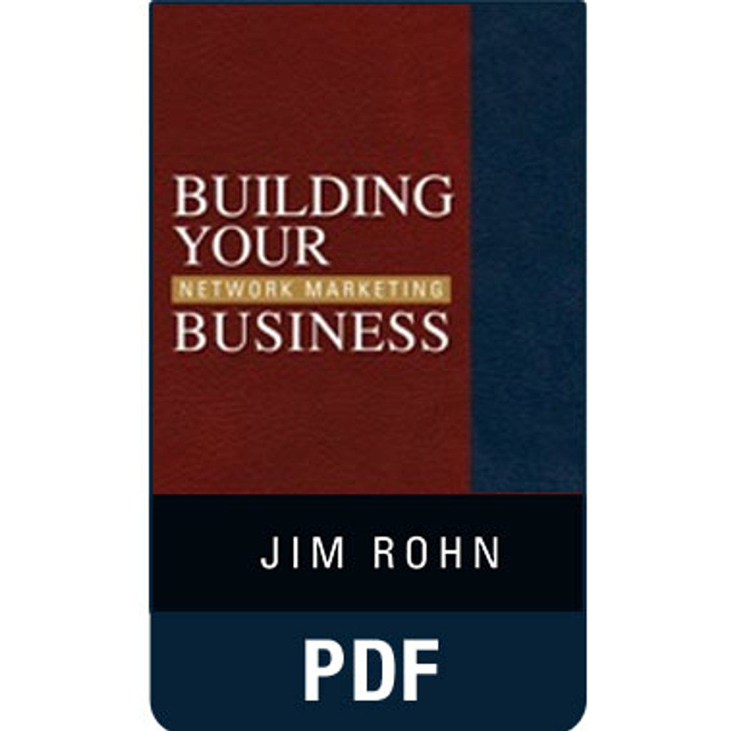 Building Your Network Marketing Business eBook Edition by Jim Rohn