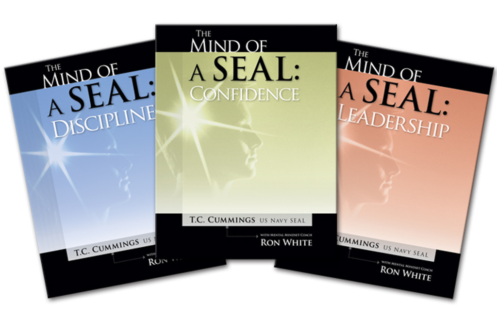 Mind of a S.E.A.L.- Discipline, Leadership & Confidence MP3 Audio by TC Cummings and Ron White