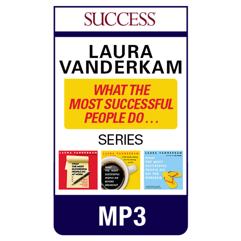 What the Most Successful People Do Unabridged MP3 audiobook series by Laura Vanderkam