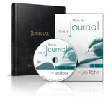 Combo How to Use a Journal CD with Leadership Journal by Jim Rohn