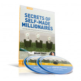 Secrets of Self-Made Millionaires DVD/CD Set by Brian Tracy