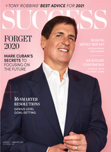 Success Magazine Jan/Feb 2021 - Mark Cuban