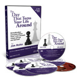 The Day That Turns Your Life Around by Jim Rohn - with Bonus DVD!