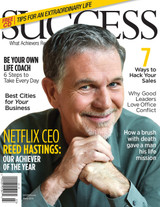 SUCCESS Magazine March 2015  - Reed Hastings