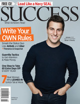 SUCCESS Magazine August 2015 - Brian Chesky