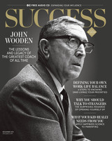 SUCCESS Magazine December 2016 - Coach John Wooden